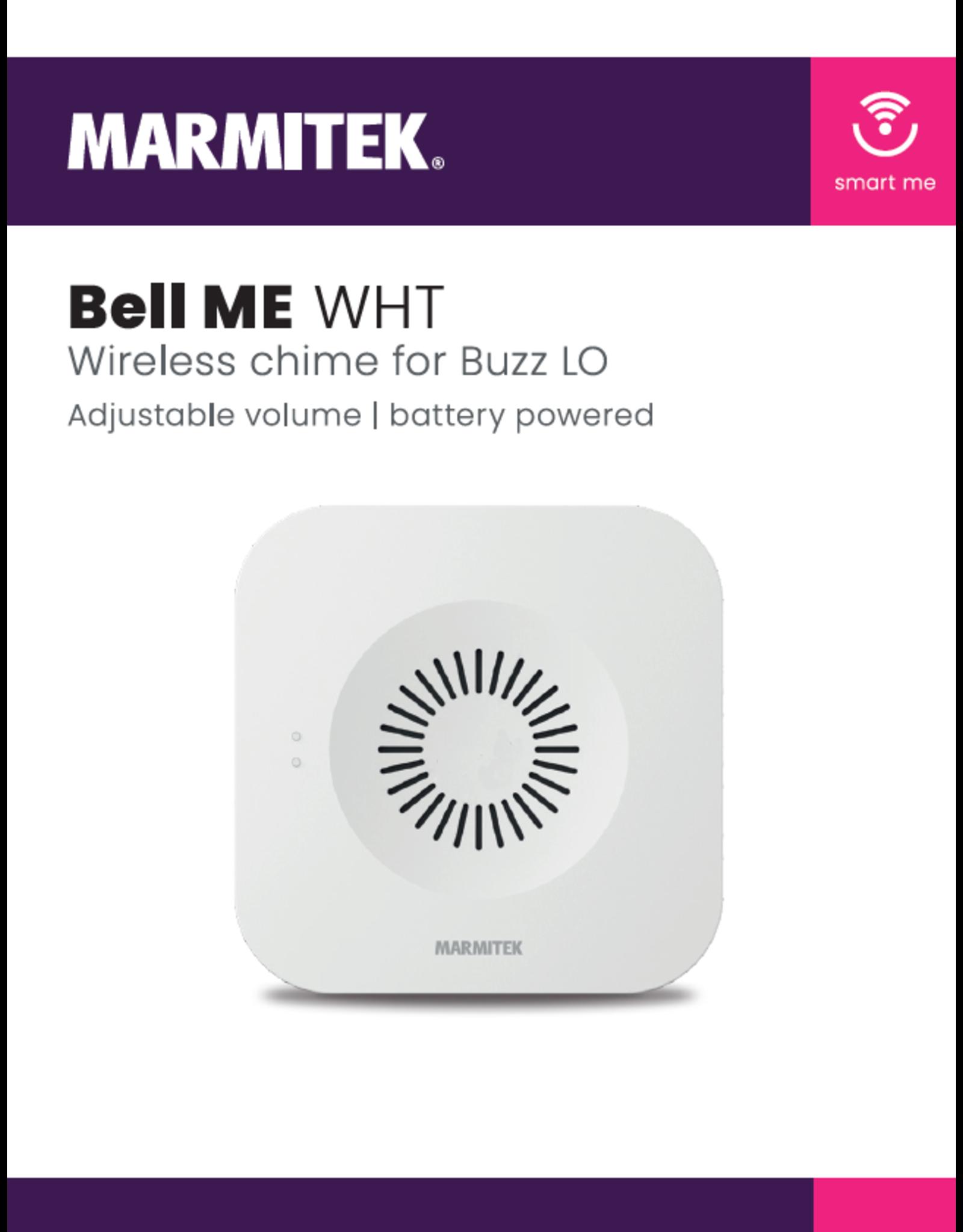 Marmitek Wireless chime for Buzz LO - white - 4x omdoos single