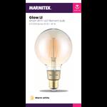 Marmitek Smart Wi-Fi LED filament bulb L - E27 | 650 lumen | 6 W = 40 W - 12x omdoos