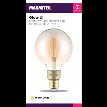 Marmitek Smart Wi-Fi LED filament bulb L - E27 | 650 lumen | 6 W = 40 W - omdoos (4 stuks)