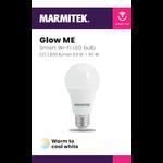 Marmitek Smart Wi-Fi LED bulb - E27 | 806 lumen | 9 W = 60 W - 12x omdoos single
