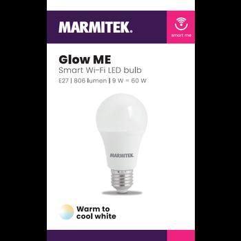Marmitek Smart Wi-Fi LED bulb - E27 | 806 lumen | 9 W = 60 W - omdoos (12 stuks)