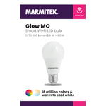 Marmitek Smart Wi-Fi LED bulb color - E27 | 806 lumen | 9 W = 60 W - omdoos