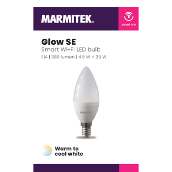 Marmitek Smart Wi-Fi LED bulb - E14 | 380 lumen | 4.5 W = 35 W - omdoos (12 stuks)