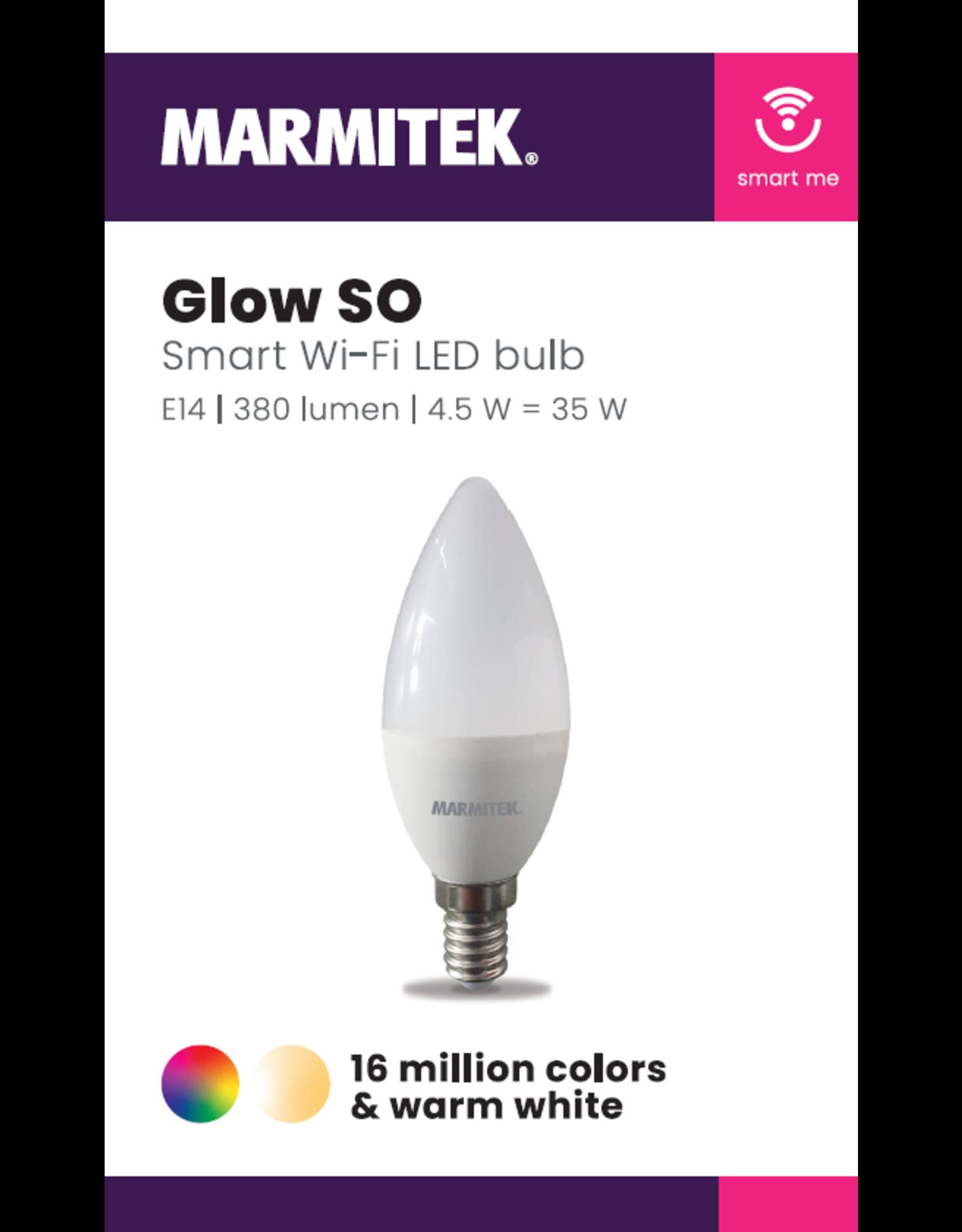 Marmitek Smart Wi-Fi LED bulb color - E14 | 380 lumen | 4.5 W = 35 W - 1 stuk