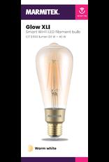 Marmitek Smart Wi-Fi LED filament bulb XL - E27 | 650 lumen | 6 W = 40 W - 4x omdoos single