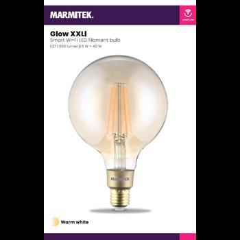 Marmitek Smart Wi-Fi LED filament bulb XXL - E27 | 650 lumen | 6 W = 40 W - 1 stuk
