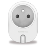Marmitek Smart Wi-Fi power plug - 15A | on/off manual & automatic | IEC plug type E (FR/BE/SK/CZ etc.) - 12x omdoos single