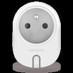 Marmitek Smart Wi-Fi power plug - 15A | on/off manual & automatic | IEC plug type E (FR/BE/SK/CZ etc.) - omdoos (12 stuks)