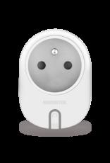 Marmitek Smart Wi-Fi power plug - 15A | on/off manual & automatic | IEC plug type E (FR/BE/SK/CZ etc.) - 12x omdoos
