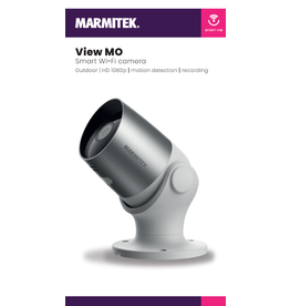 Marmitek Smart Wi-Fi camera - outdoor | HD 1080p | motion detection | recording | IEC plug type G (UK/IRL etc.) - omdoos (4 stuks)