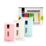 VOILA Home Bakery Voila Fondant Assortment Multipack Different Colors (5x 100 gr.) - 150 grams block