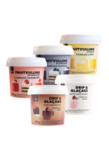 VOILA Home Bakery Voila Drip & Glacage witte chocolade 375 gram bakje