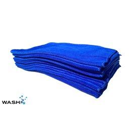 W.A.S.H. W.A.S.H. 12-PACK PREMIUM POETSDOEK  Microvezel Blauw 60x40 cm