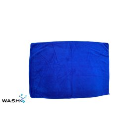 W.A.S.H. W.A.S.H. PREMIUM POETSDOEK  Microvezel Stof Blauw 60x40 cm - 1 stuk