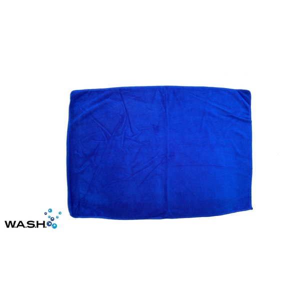 W.A.S.H. W.A.S.H. PREMIUM POETSDOEK  Microfiber Stof Blauw 60x40 cm - 1 stuk