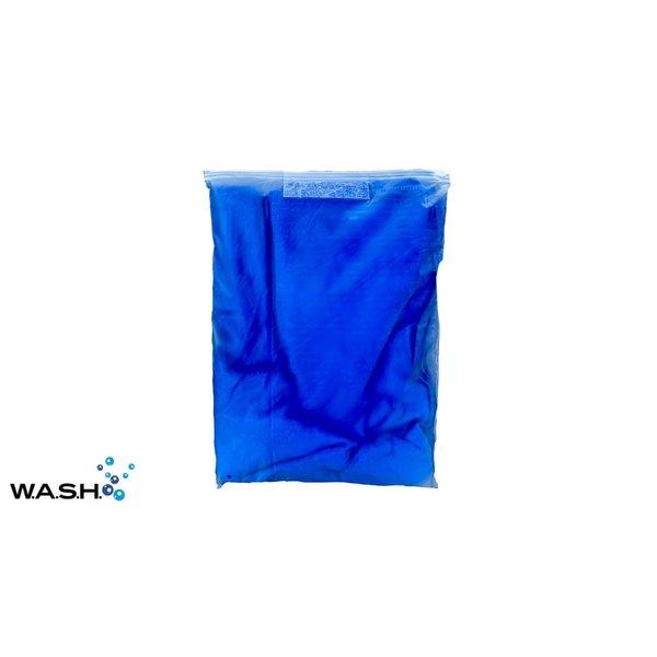 W.A.S.H. W.A.S.H. Microvezel Premium Droogdoek  Blauw - 160x60 cm