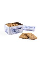 Hellema Hellema Bisquit épicé dans une boîte bleue de delft - 135 gramme