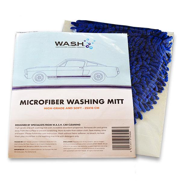 W.A.S.H. W.A.S.H. Microfiber Washing Mitt 25x16 cm