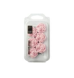 VOILA Home Bakery Voila Suikerdecoratie Roze Rozen - 22x 18 gram single