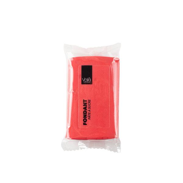 VOILA Home Bakery Voila fondant red - 10x 150 grams block - master carton (1,5 kgs)