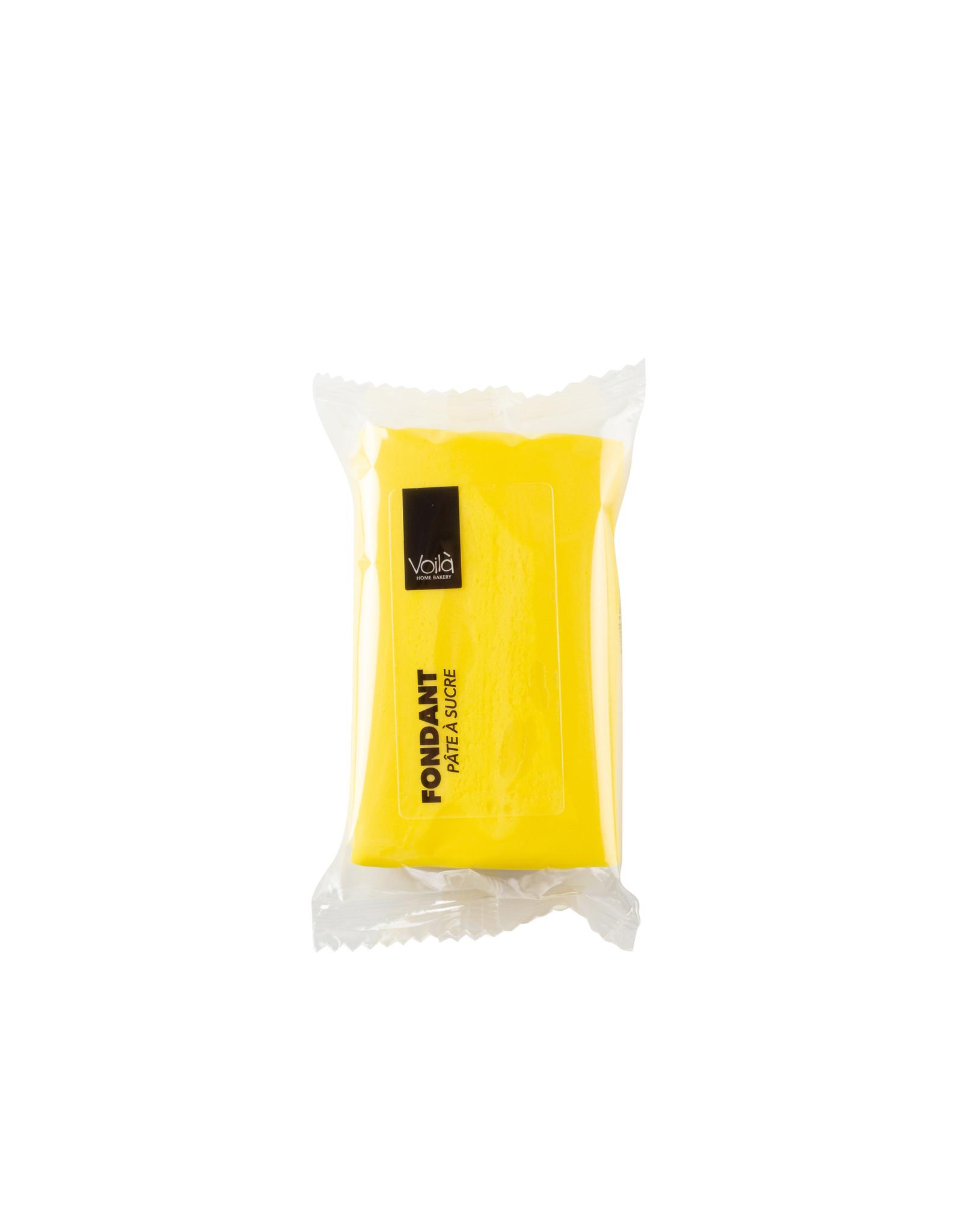 VOILA Home Bakery Voila Rolfondant geel - 10x 150 gram - grootverpakking (1,5 kgs)