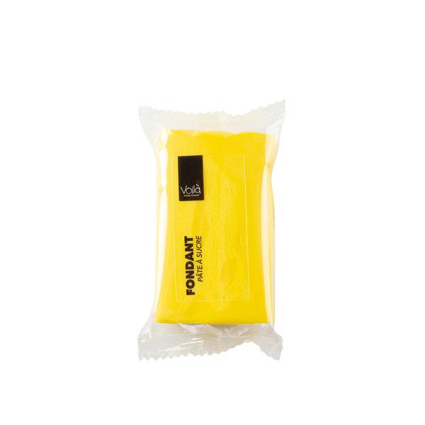VOILA Home Bakery Voila fondant yellow - 10x 150 grams block - master carton (1,5 kgs)
