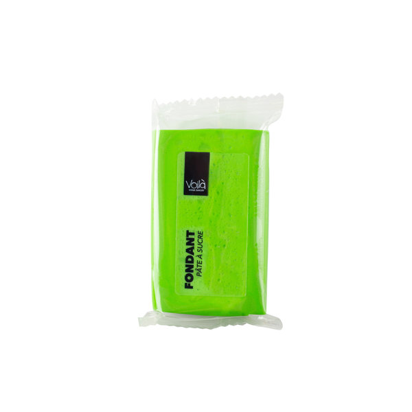 VOILA Home Bakery Voila Pâté a sucre verte - 10x  150 grammes paquet - carton principal (1,5 kilo)