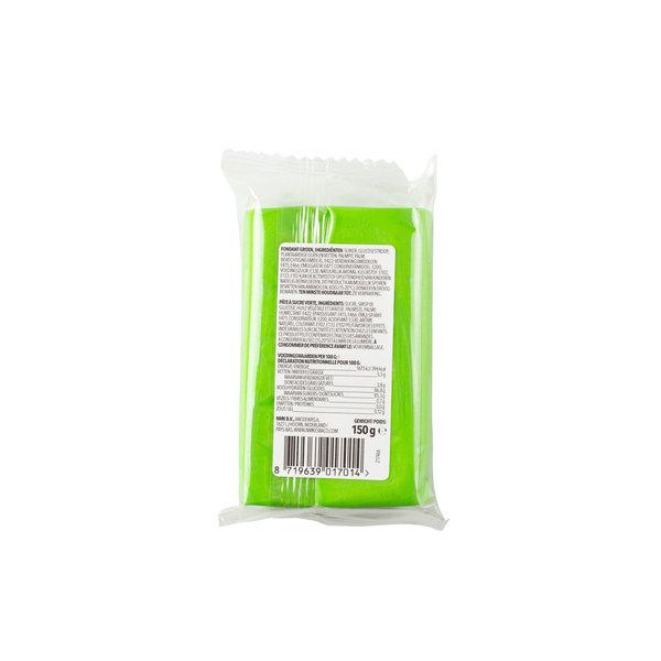 VOILA Home Bakery Voila Rolfondant groen - 10x 150 gram - grootverpakking (1,5 kgs)