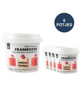 VOILA Home Bakery Voila Fourrage Framboise Ensemble d'avantages - 6x 375 gramme