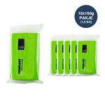 VOILA Home Bakery Voila fondant green - 10x 150 grams block - master carton (1,5 kgs)
