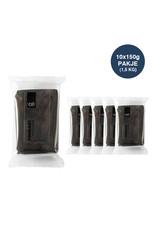 VOILA Home Bakery Voila fondant black - 10x 150 grams block - master carton (1,5 kgs)
