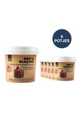 VOILA Home Bakery Voila Drip & Glacage chocolate caramel flavour 6x 375 gram