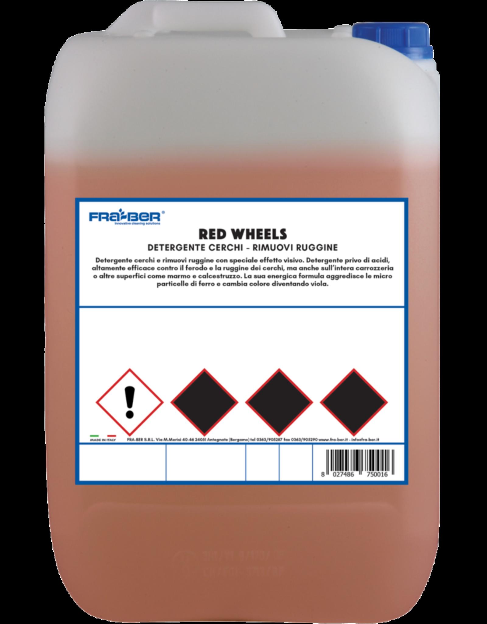 Fra-Ber Fra-Ber Red Wheel - 5 kilogram