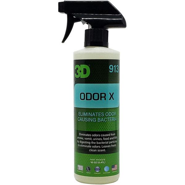 3D PRODUCTS 3D Odor X - 16 oz / 0.47 Lt Spray Fles