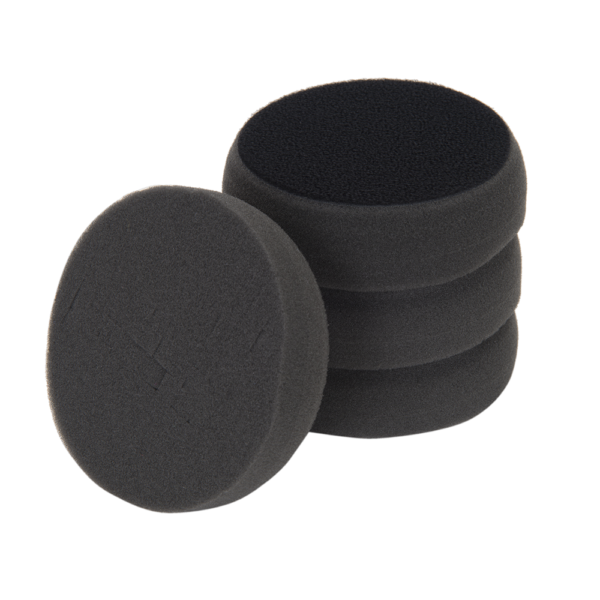 """3D PRODUCTS 3D Black Spider Finishing pad 3.5"""" / 90 mm - 2 Pack Foam Pad"""