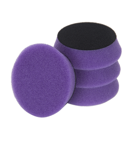 "3D PRODUCTS 3D Lt Purple Spider Polishing pad 3.5"" / 90 mm - 2 Pack Foam Pad"