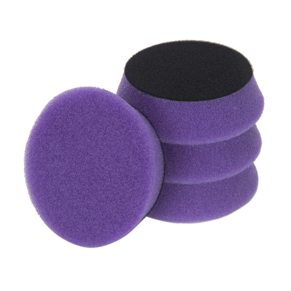 """3D PRODUCTS 3D Lt Purple Spider Polishing pad 3.5"""" / 90 mm - 2 Pack Foam Pad"""