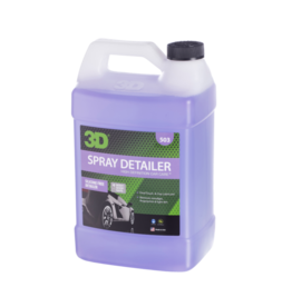 3D PRODUCTS 3D Spray Detailer - 1Gallon /3.78  Lt Can