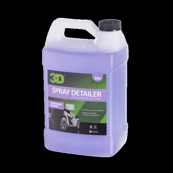 3D PRODUCTS 3D Spray Detailer - 1 Gallon / 3.8  Liter  Can