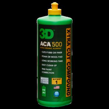 3D PRODUCTS 3D ACA X-TRA CUT Compound 500 - 32oz/946 ml fles