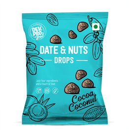 DEV. PRO. Dev. Pro. Date & Nuts Drops - Cocoa Coconut - 40 gram