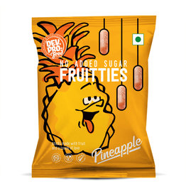 DEV. PRO. EUROPE Dev. Pro. Fruitties - Ananas - Sachet de 35 grammes