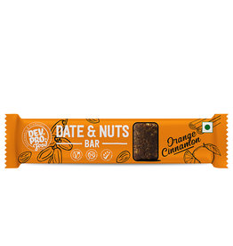 DEV. PRO. Dev. Pro. Date & Nuts Bar - Sinaasappel Kaneel - 30 gram