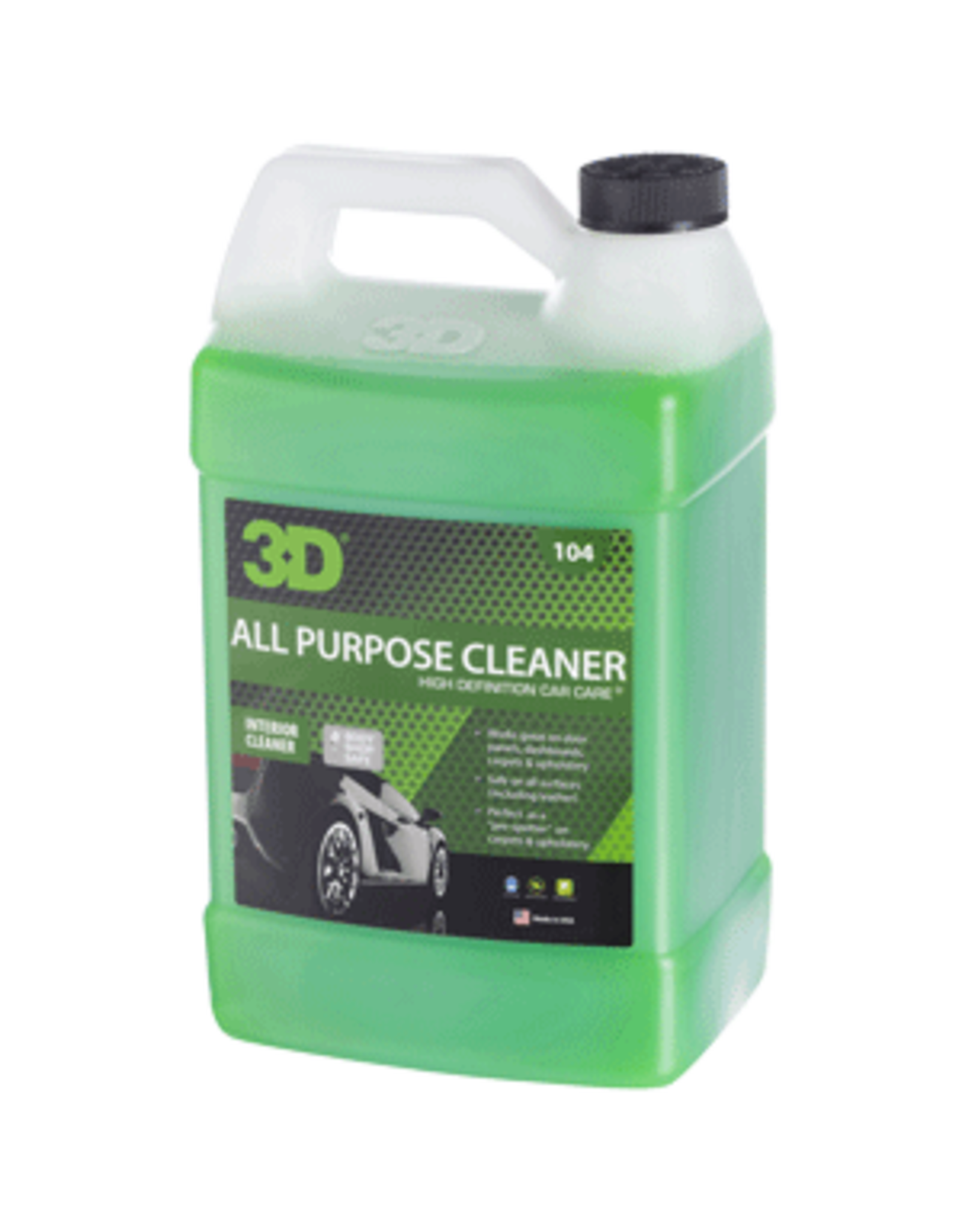 3D PRODUCTS 3D All Purpose Cleaner - 1 Gallon / 3.78 lt Can