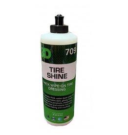 3D PRODUCTS 3D Tire Shine - 16 oz / 473 ml fles Flacon