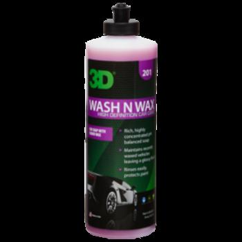 3D PRODUCTS 3D Wash N Wax - 16 oz / 473 ml Flacon