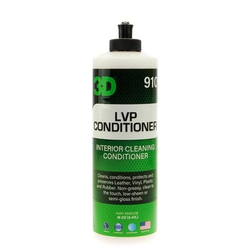 3D PRODUCTS 3D LVP Conditioner Interior Cleaning Conditioner - 16 oz / 473 ml Flacon