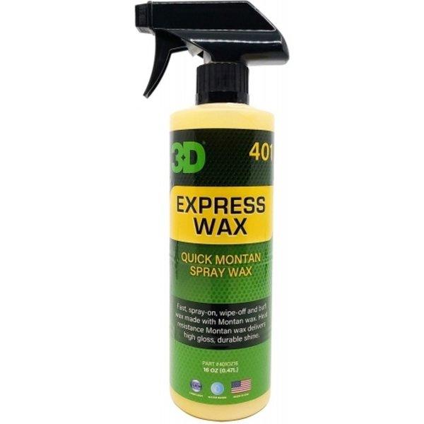 3D PRODUCTS 3D Express Wax - 16 oz / 473 ml Spray Fles