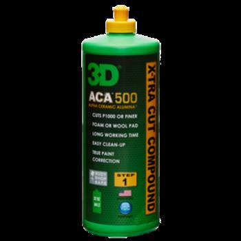 3D PRODUCTS 3D ACA X-TRA CUT Compound 500 - 8 oz / 237 ml fles