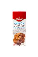 Hellema HELLEMA COUNTRY Cookies Kokos chocolade - 175 gram  doos